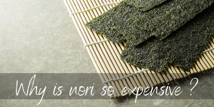 Why Is Nori So Expensive ? 4 Reasons & Substitute Ideas - Foodiosity