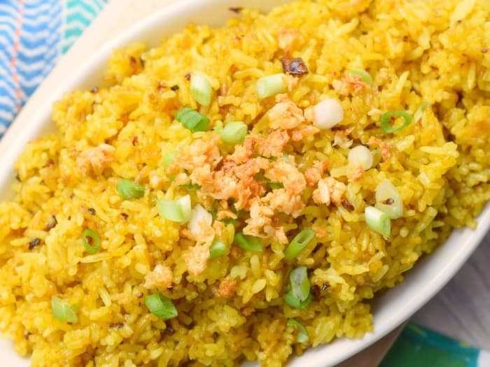 Java Rice - Yellow Fried Rice - Who Needs A Cape?