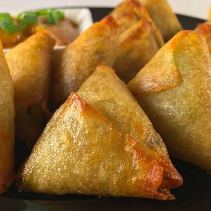 Air Fryer Samosas (Recipe + VIDEO!) • Summer Yule Nutrition