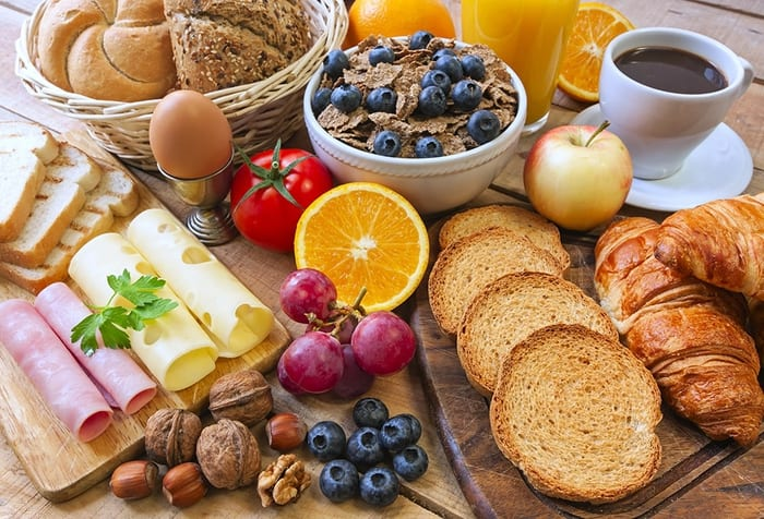 What is a continental breakfast? - Faber