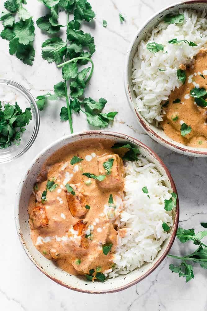 Air Fryer Paneer Curry - Happy Veggie Kitchen