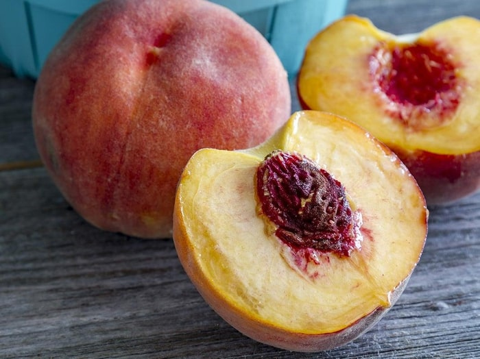 The peach pit. - 11 Facts You Never Knew About Peaches - Pictures -  Chowhound
