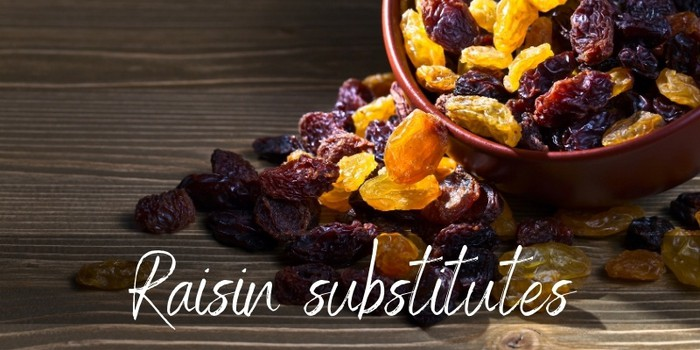 Raisin Substitutes - 7 Chewy And Flavorful Ideas - Foodiosity