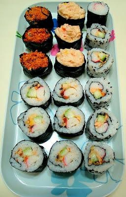 Happy Home Baking: Homemade Sushi