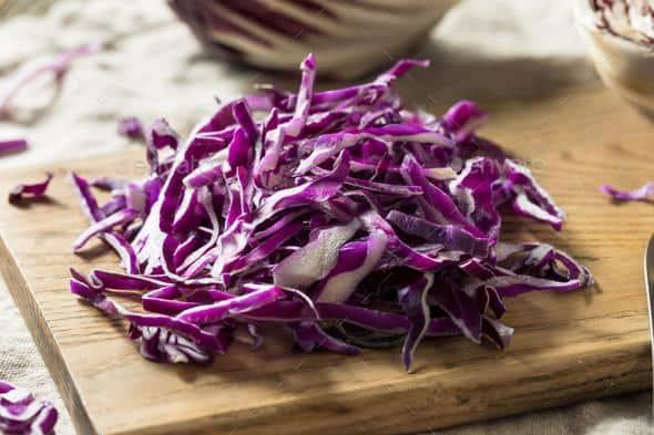 Raw Shredded Purple Cabbage Stock Photo by bhofack2 | PhotoDune