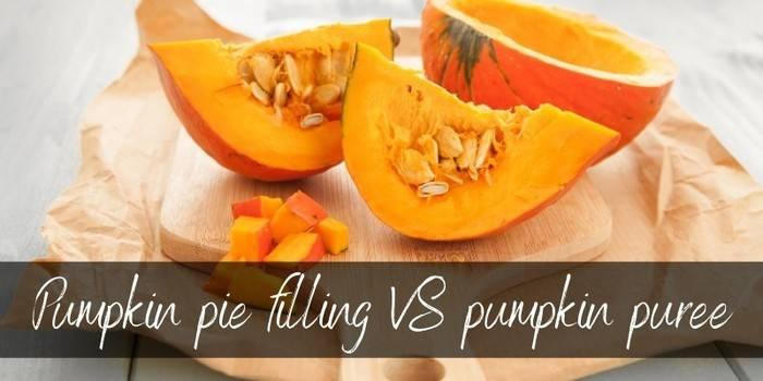 Pumpkin Pie Filling VS Pumpkin Puree - How To Use Both - Foodiosity
