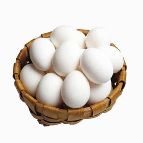 Kadaknath White Eggs, Packaging Size: 10 pcs/Carton, Packaging Type: Box,  Rs 21 /pack   ID: 22221518155