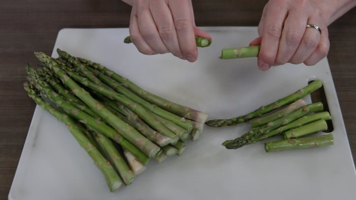 Why snapping asparagus stalks is like throwing away money - oregonlive.com