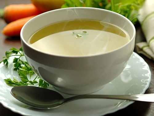 Vegetable Broth Recipe - Best Homemade Broth with Veggies and Herbs