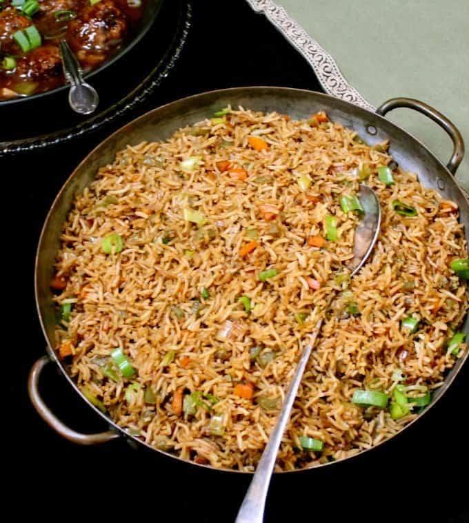 Veg Fried Rice - Holy Cow!