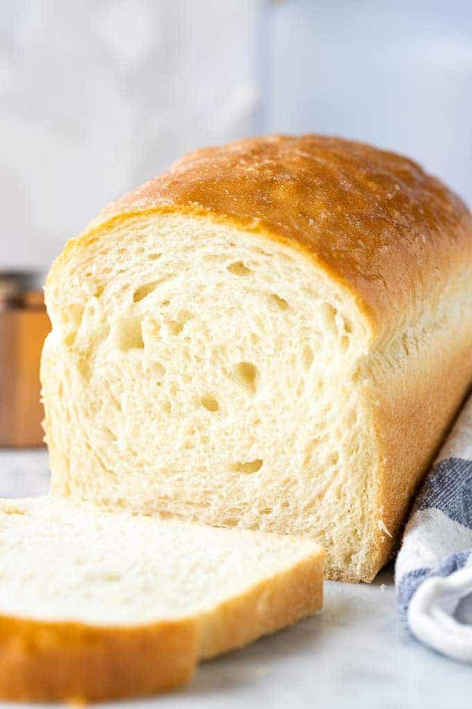 White Bread {So soft and easy to make!} - Plated Cravings