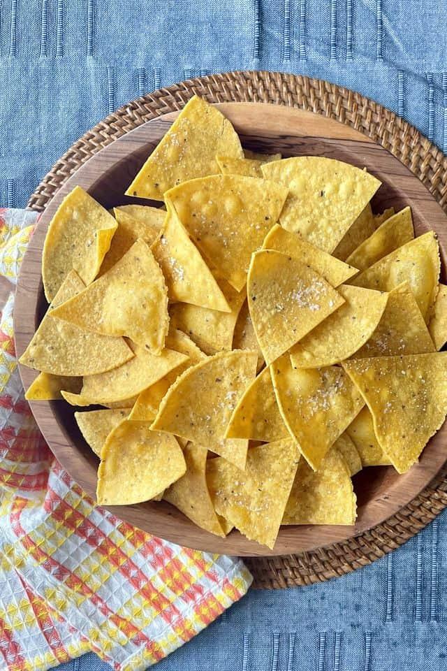 Best Tortilla Chips Recipe – How to Make Homemade Tortilla Chips