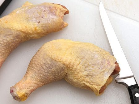 How to Debone a Chicken Thigh | Knife Skills