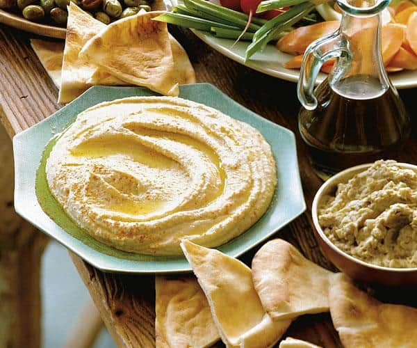 Hummus (Chickpea & Tahini Purée) - Recipe - FineCooking