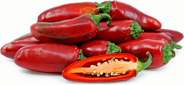 Red Jalapeño Chile Peppers Information and Facts