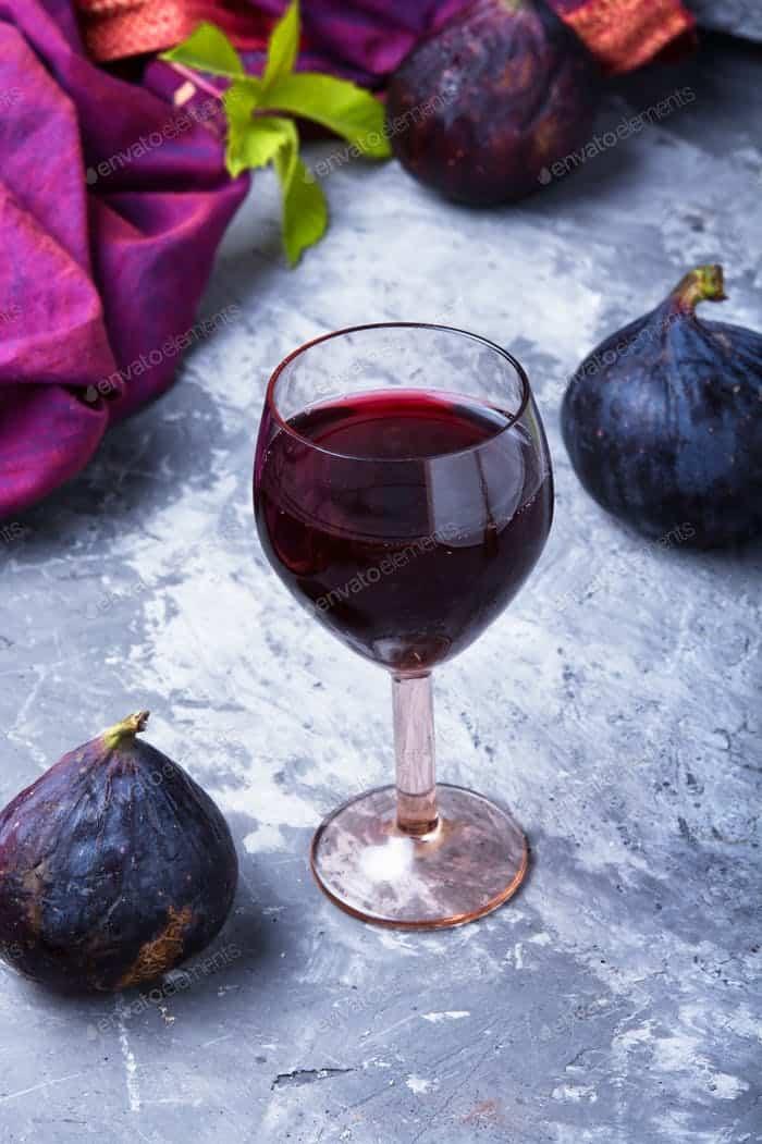 wine with figs photo by Nikolaydonetsk on Envato Elements
